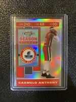 2019-20 OPTIC CONTENDERS CARMELO ANTHONY SILVER PRIZM Holo