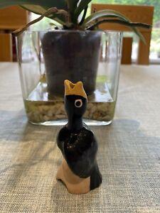 Vintage Black Bird Pie Funnel Vent