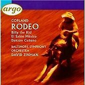 Copland:Billy the Kid and Rode, Zinman, Baltimore So, Very Good