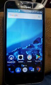 Coolpad Quattro 4G - Black (MetroPCS) Smartphone