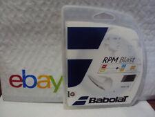 Babolat RPM Blast 15 Gauge 1.35mm Tennis String Black NEW FREE 1ST CLASS SHIP