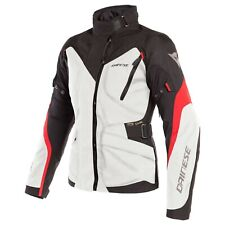 New Dainese Tempest 2 D-Dry Jacket Women's EU 40 Grey/Black/Red #265461002A40