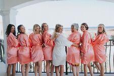 Rhinestone Bridal Robes, Bride Mrs Robe, Personalized Bridesmaid Robe S-XXL