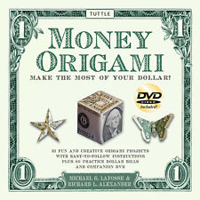 Money Origami Kit: Make the Most of Your Dollar: Origami Book with 60 Origami