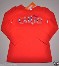 Gymboree girl red cutie shirt top size 2 2T NWT 100% cotton