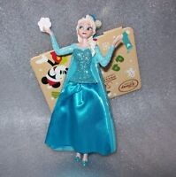 DISNEY STORE 2016 ELSA SKETCHBOOK CHRISTMAS TREE ORNAMENT NEW WITH TAG