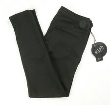 NEW DISH FOREVER BLACK NO FADE PERFORMANCE DENIM SKINNY PANTS SIZE 26X28