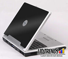 3D CARBON FIBER Vinyl Lid Skin Cover Decal fit Dell Inspiron 6000 Laptop