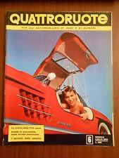 QUATTRORUOTE n.6 LUGLIO 1956 - ORIGINALE