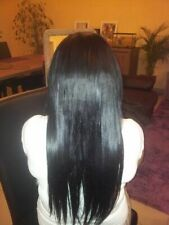 Brazilian Hair Extensions NON REMY hair 1 piece 20 Inches 100% human
