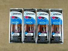 KINESIO Pre Cut Back Tape, Kinesiology, 4 (Four) Packets