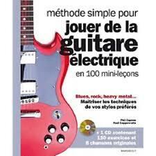 Méthode simple pour jouer de la guitare électrique - Collectif - Marabout