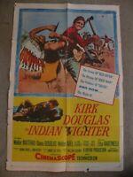 The Indian Fighter Kirk Douglas Walter Matthau R60/163 movie poster 27X41