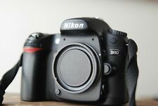 Nikon D80 camera body in Box with SD card, battery, Charger  Cable