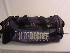 New Third DEGREE Duffel Gym Sport Bag Soccer Rugby Swim Volleyball #737 BLUE