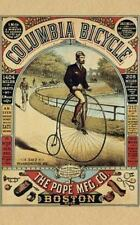 Columbia Bicycle Advertising Lined Writing Journal: 120 Page Blank Notebook...