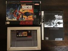 Super Star Wars : Empire Strikes Back -Snes ( Super Nintendo ) Complete In Box !