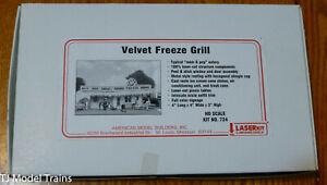 American Model Builders, Inc HO #724 Velvet Freeze Grill (Laser Cut Kit) Wood