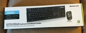 IOGEAR GKM513 Spill-Resistant Keyboard and Mouse Combo