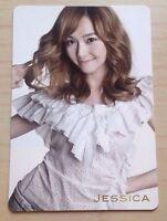 Girls Generation SNSD Genie Japan/JPN ver official Jessica photo card bts f(x)