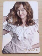 Girls Generation SNSD Genie Japan/JPN ver official Jessica photo card