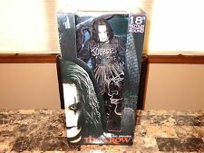 "The Crow Signed 18"" Action Figure Statue James O'Barr Eric Draven Sketch + COA"