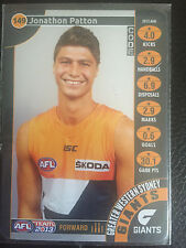 2013 Team Coach - Silver - 149 - Jonathon Patton - GWS Giants