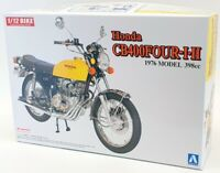 Aoshima 1/12 Scale Model Motorcycle Kit 52242 - 1976 Honda CB400 Four I.II
