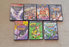 Play Station 2 Lot Of ( 7 ) Games  & included is ( 1 ) DVD