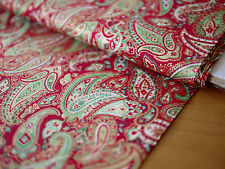 Makower Patchworkstoff, Weihnachtsstoff, CHRISTMAS TRADITIONAL, Paisley, Kombi