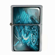 Wind Proof Dual Torch Refillable Lighter Dragon Design-004 Custom Mythical Beast