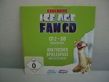 Ice Age fan CD-CD 2-Sid presenta borró juego Pass