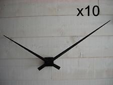 x10 mecanisme horloge quartz grandes aiguilles géantes geante XXL 33/45cm DIY