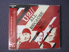 "U2 ""ALL BECAUSE OF YOU"" JAPAN CD SINGLE *SEALED*"