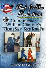 All 3 William Cheung Cheung Style Instructional, Point, Full contact  & Forms