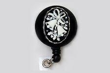 BELLS Retractable Reel ID Card Badge Holder/Key Chain Ring Wedding Christmas