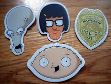 SDCC 2013 Exclusive Pin Badge FAMILY GUY BOBS BURGERS AMERICAN DAD MURDER POLICE
