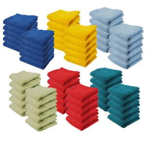 10 Seiftücher Waschlappen 30x30 Seiftuch Gästetuch ★ Baumwolle 1517/ERT/FST/10