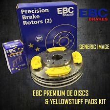 EBC 288mm FRONT BRAKE DISCS + YELLOWSTUFF PADS KIT SET OE QUALITY PD03KF067