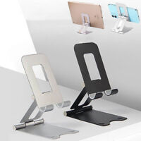 Adjustable Cell Phone Stand Foldable Desk Holder Mount Dock for Samsung iPhone