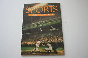 SPORTS ILLUSTRATED #1 - AUGUST 16, 1954 - EXCELLENT CONDITION CGC 7.0 - w/CARDS