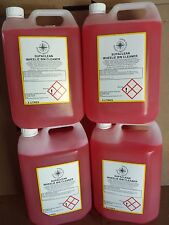 4 x 5 LITRE SUPA CLEAN WHEELIE BIN CLEANER/DISINFECTANT LEAVES FLORAL ODOUR