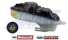 03-07 6.0L Powerstroke Diesel Genuine Ford Coolant Degas Bottle Reservior & Cap