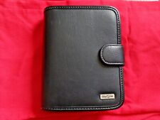 New Complete Franklin Covey Day One 1 Black Leather Planner Binder 6 Ring 2022