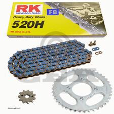 Kit de Cadena Polaris Sendero Jefe 250 91-93,RK FB 520H 84 ,abierto,azul,13/3