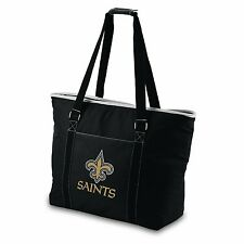 EXTRA LARGE New Orleans Saints INSULATED TOTE BAG Tailgating Cooler Beach Hand
