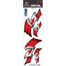 Lethal THREAT Moto Bicicleta Tablet PC Casco Decal Sticker LT00626 Bandera De Canadá