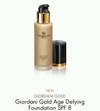 Oriflame Giordani Gold Age Defying Foundation SPF 8 in Natural Beige, *Sale*