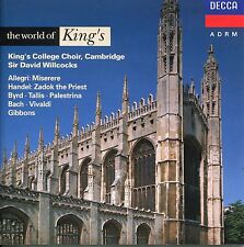 The World Of King's - King's College Choir  Cambridge Sir David Willcocks