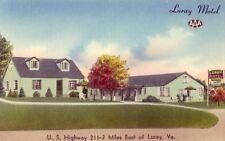 LURAY MOTEL, U.S. Highway 211 Mr & Mrs Eugene M Zenobia, Owners - Luray, VA.